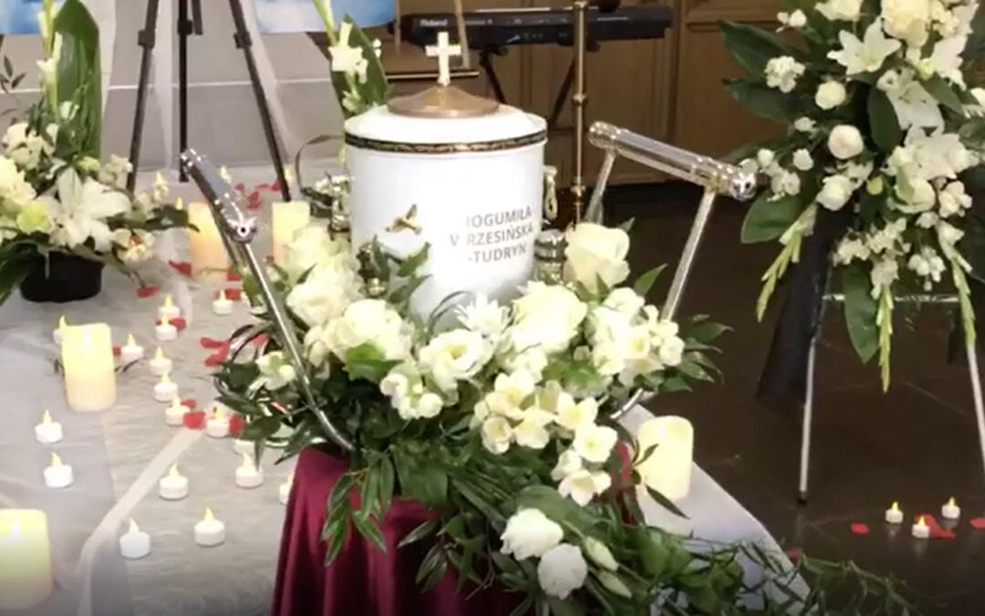 dekoracja kaplicy pogrzebowej